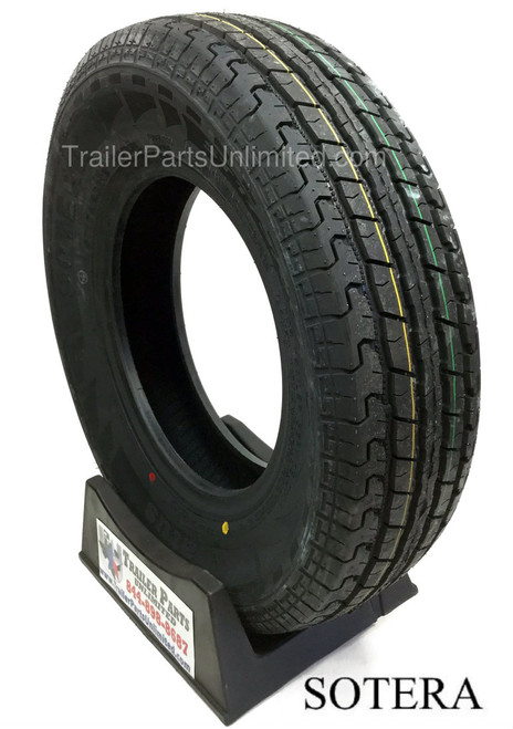 """13"""" ST175/80R13 6-PLY RADIAL SPECIALTY TRAILER TIRE"""