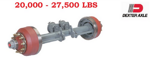Heavy Duty Dexter Trailer Axles.