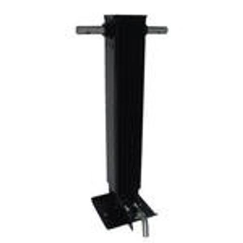 Ram 12k Side Pin Weld-On Single Speed Square Tube Drop Leg Jack