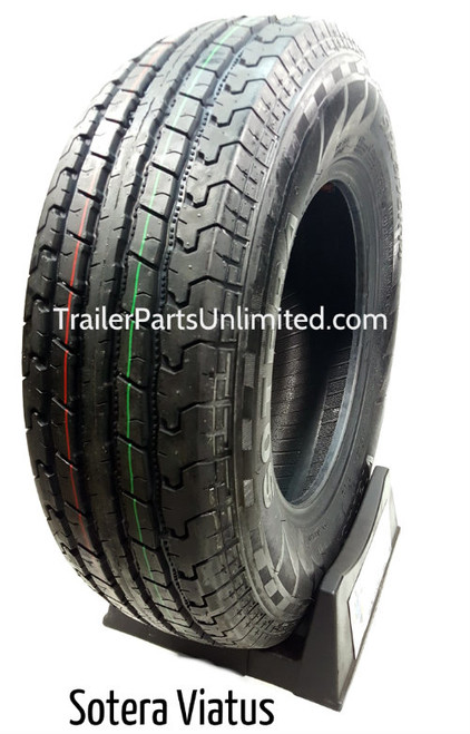 "14"" 6-ply Radial trailer Tire Load Range C"