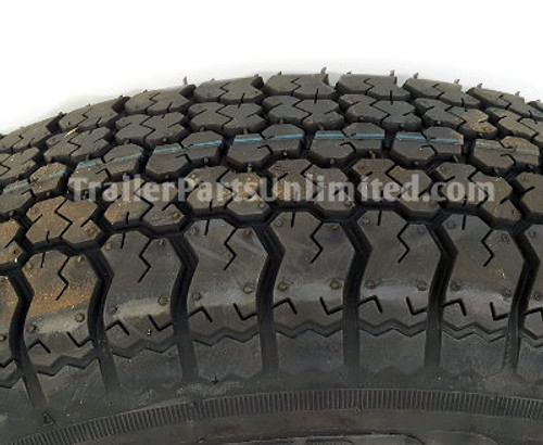 "15"" 6-ply Bias Trailer Tire, Tex Star Trailer Tire"