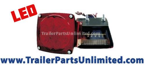 10 diode stop turn tail standard trailer light for left hand driver side of trailer
