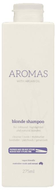 NAK HAIR - Aromas Blonde Shampoo 275ml