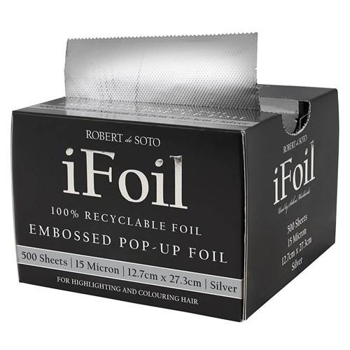 ROBERT DE SOTO - Embossed Pop-Up Silver iFoil