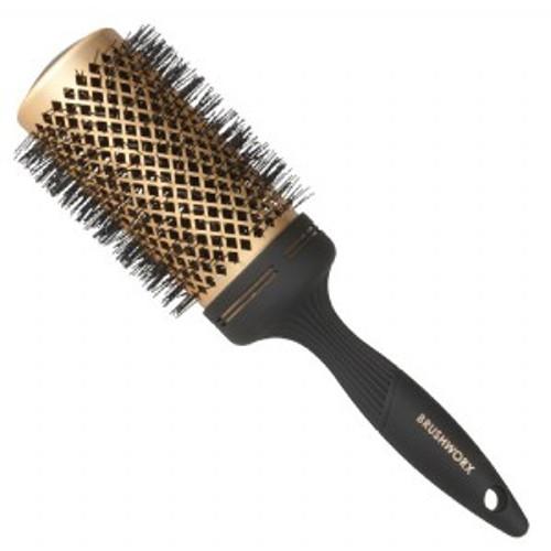 BRUSHWORX - Gold Series - Gold Ceramic Hot Tube Hair Brush - Extra Large