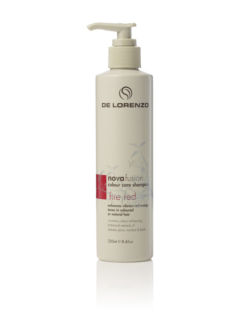 DE LORENZO - Novafusion Colour Care Shampoo - Fire Red 250ml