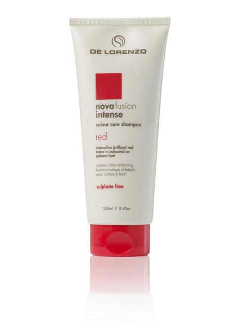 DE LORENZO - Novafusion Colour Care Shampoo - Intense Red 200ml