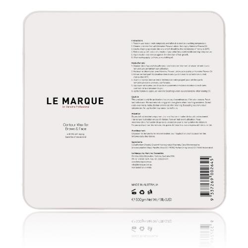 MANCINE - Le Marque Contour Hard Wax for Face & Brows 500g