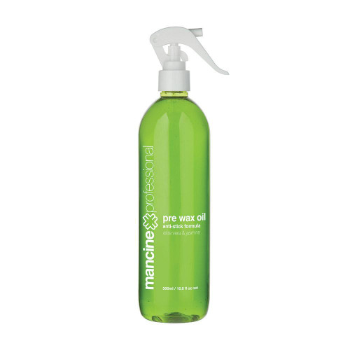 MANCINE - Pre Wax Oil Aloe Vera & Jasmine 500ml
