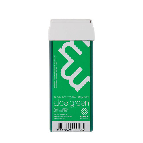 MANCINE - Roll-On Wax: Aloe Green 100ml