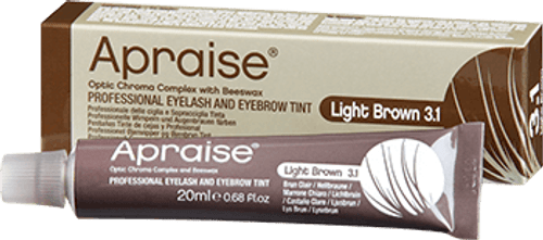 APRAISE - Eyelash & Eyebrow Tint - 20ml Light Brown 3