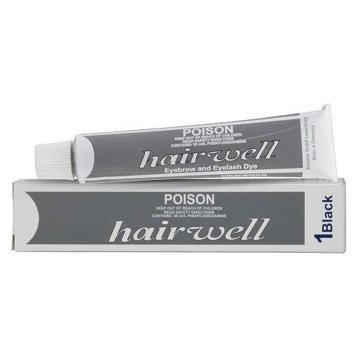 HAIRWELL - Eyelash Tint - Black 20g