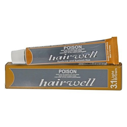 HAIRWELL - Eyelash Tint - Light Brown 20g