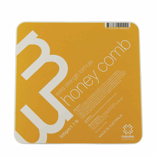 MANCINE - Hot Wax Extra Strength Honeycomb 500g
