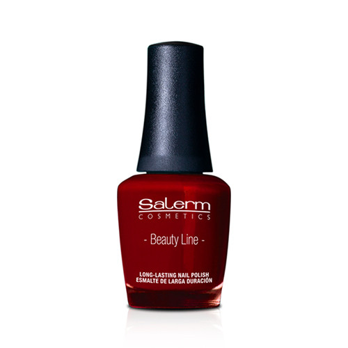 SALERM COSMETICS - Beauty Line - Red Ibiscus Nail Polish 15ml