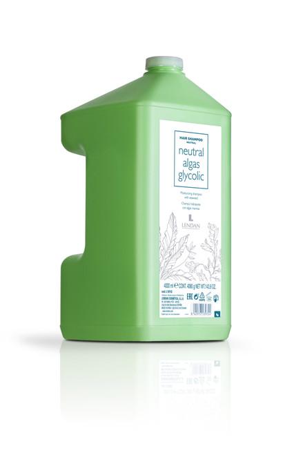 LENDAN - Algas - Neutral Glycolic Algae Shampoo 4 Litre