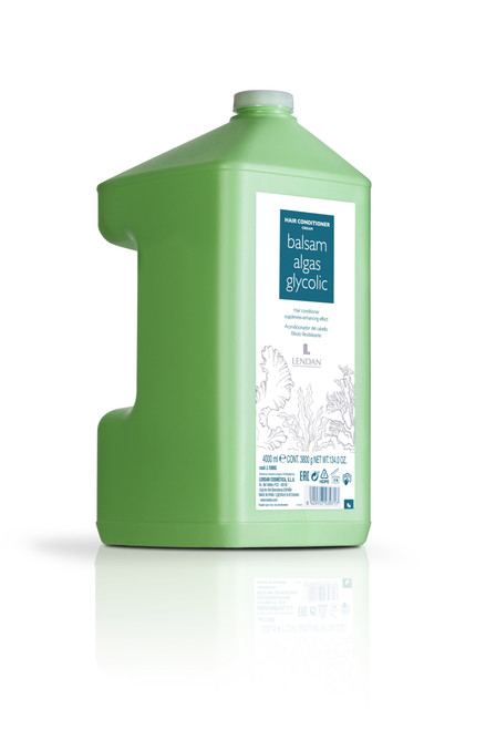 LENDAN - Algas - Balsam Glycolic Hair Conditioner 4 Litre
