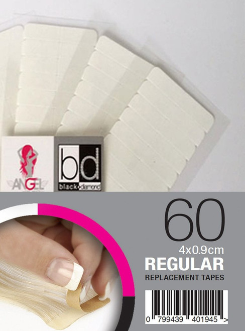 ANGEL EXTENSIONS - Replacement Tapes Regular 4 x 0.9cm - 60pk