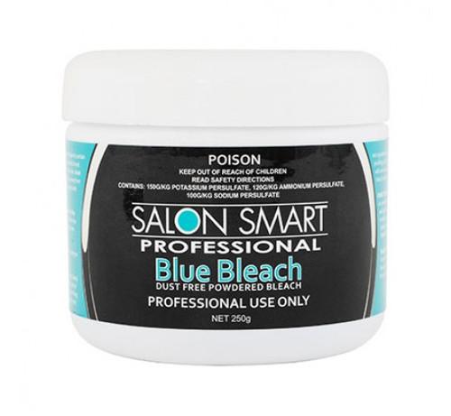SALON SMART - Dust Free Powdered Bleach - Blue 250g