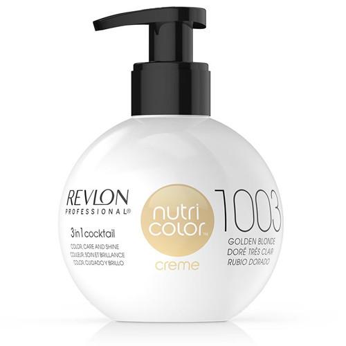 REVLON PROFESSIONAL - Nutri Colour Creme 1003 Golden Blonde 270ml
