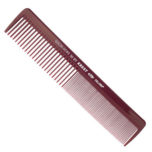 KREST GOLDILOCKS - No. 30 Hair Cutting Comb - 19cm