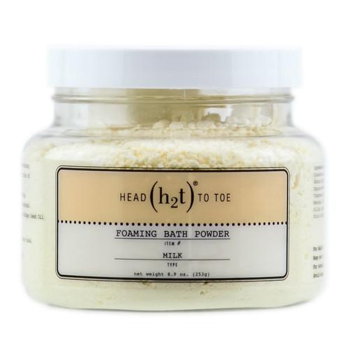 h2t - Foaming Bath Powder - Milk 253g