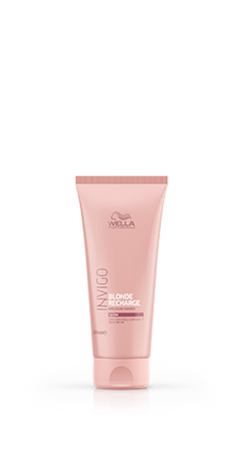 WELLA - Invigo - Blonde Recharge Warm Blonde Color Refreshing Conditioner 200ml