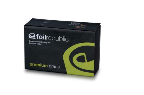FOIL REPUBLIC - Premium Grade SHORT Pre-Cut & Pre-Folded Foil