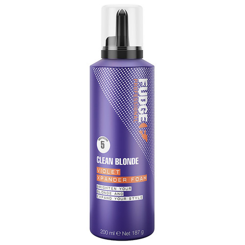 FUDGE PROFESSIONAL - Clean Blonde Violet Xpander Foam 200ml