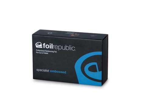 FOIL REPUBLIC -Specialist Embossed Pre-Cut & Pre-Folded Foil