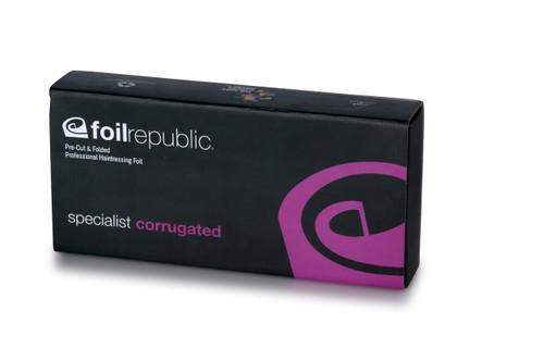 FOIL REPUBLIC -Specialist Corrugated LONG Pre-Cut & Pre-Folded Foil