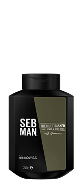 SEB MAN - The Multi-Tasker Hair, Bear & Body Wash 250ml