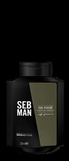 SEB MAN - The Purist Anti-Dandruff Shampoo 250ml