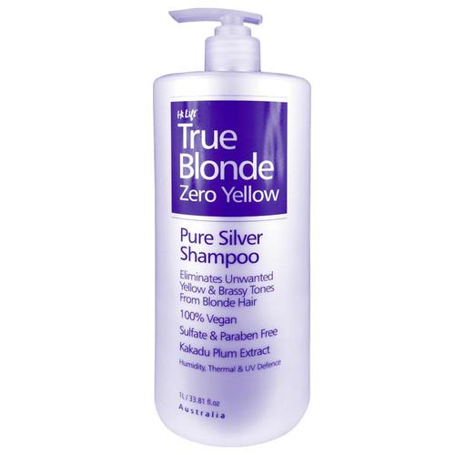 HI LIFT - True Blonde Zero Yellow - Pure Silver Shampoo 1 Litre