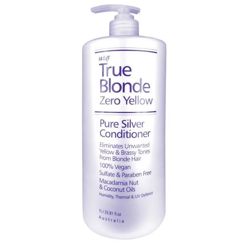 HI LIFT - True Blonde Zero Yellow - Pure Silver Conditioner 1 Litre