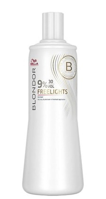 WELLA - Blondor Freelights Developer 9% 30 Vol 1000ml