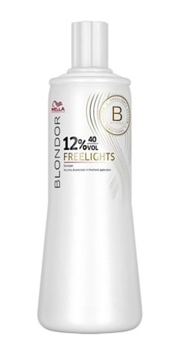 WELLA - Blondor Freelights Developer 12% 40 Vol 1000ml