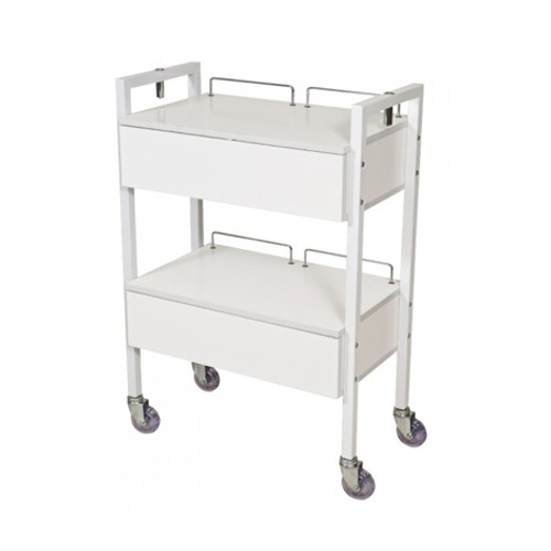 JOIKEN - White Beauty Trolley - 2 Drawers