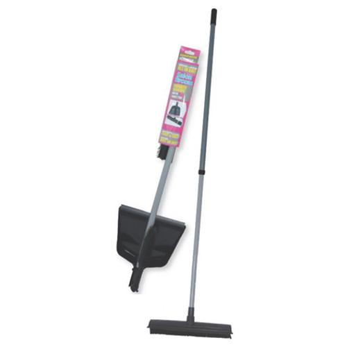 JOIKEN - Salon Broom with Dustpan