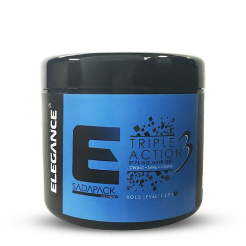 ELEGANCE - Triple Action Styling Hair Gel 500ml