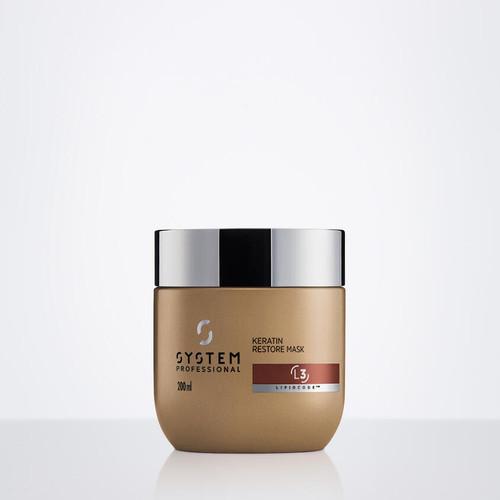 SYSTEM PROFESSIONAL - Classic - LuxeOil - Keratin Restore Mask 200ml