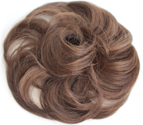 AMAZING HAIR - Synthetic Scrunchie - #6 Light Brown