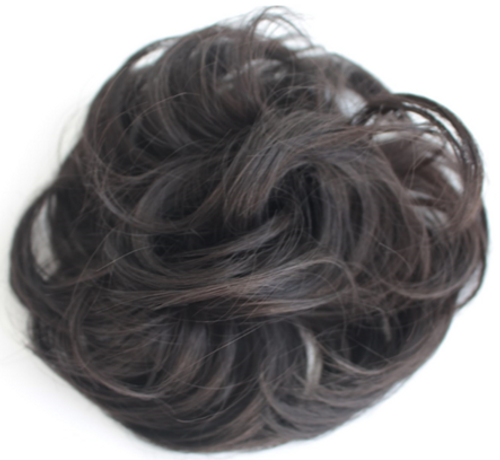 AMAZING HAIR - Synthetic Scrunchie - #2 Chocolate Brown