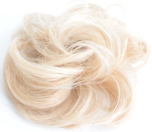 AMAZING HAIR - Synthetic Scrunchie - #6/13 Light Blonde