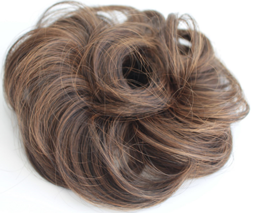 AMAZING HAIR - Synthetic Scrunchie - #2/10 Brown/Caramel