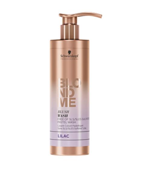 SCHWARZKOPF - BLONDME - Blush Wash - Sulfate Free Pastel Wash 250ml - Lilac