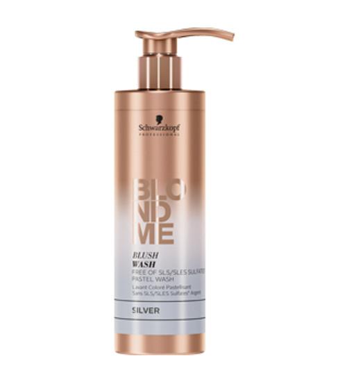 SCHWARZKOPF - BLONDME - Blush Wash - Sulfate Free Pastel Wash 250ml - Silver