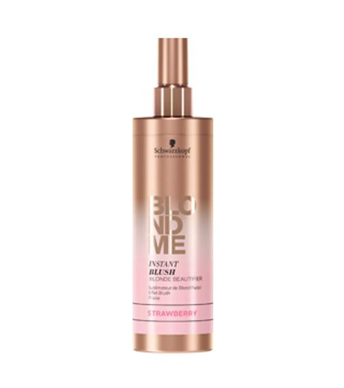 SCHWARZKOPF - BLONDME - Instant Blush - Pastel Spray 250ml - Strawberry