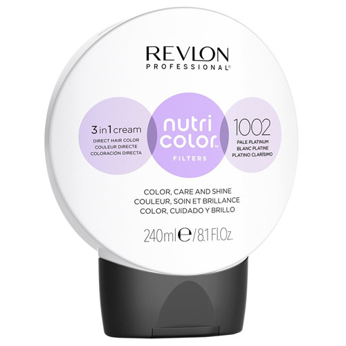REVLON PROFESSIONAL - Nutri Colour Creme 1002 White Platinum 240ml
