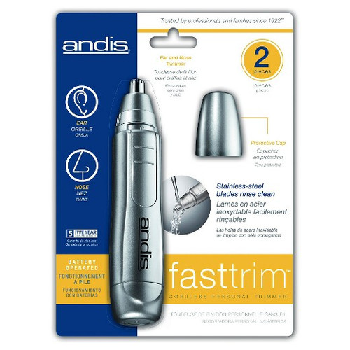ANDIS - TRIMMER - Fast Trim Battery Operated Nose Trimmer